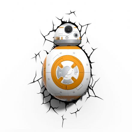 Star Wars BB8 Droid 3D Deco Wall Light